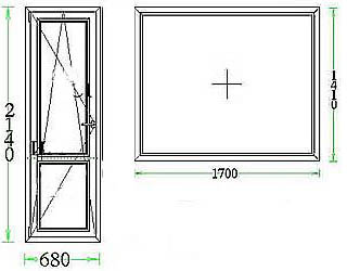 Размеры в типовых домах 504 серии.