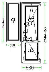 ГОСТ 11214-86: Окна и балконные двери деревянные с